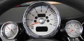 MINI Cooper Gauges  Performance Gauges for MINI Cooper