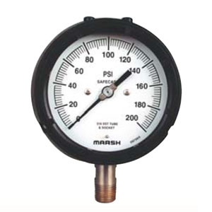 Process Gauge P Series Marsh Pressure Gauges from MARSH